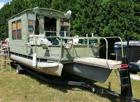 Homemade Fishing Boat by Homemade Pontoon Boat