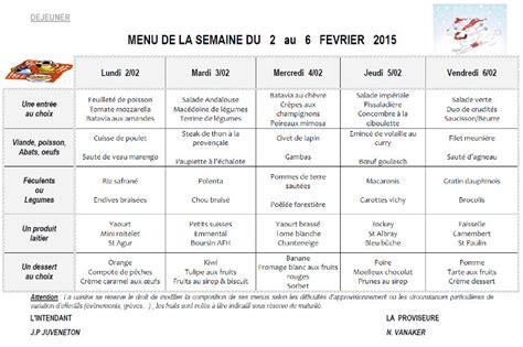 service restauration menus de la semaine lyc 233 e edouard herriot voiron
