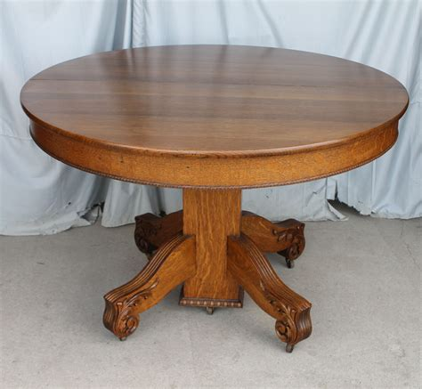 Bargain John's Antiques  Antique Round Oak Dining Table. Corner Desk Hutch Home Office. How To Hide Cables Under Desk. Desks For Boys. Indoor Bistro Table Set. Installing Pull Out Drawers In Kitchen Cabinets. American Girl Desk. Rev A Shelf Wood Pull Out Drawer. Tips For Standing Desk
