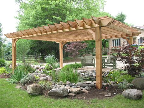 big kahuna cedar pergola kit for the home