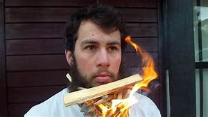 Crazy Anti-hipster Sets Beard on Fire - YouTube