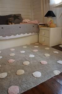 Rosa Grau Teppich : tupfen teppich kinderteppich grau rosa aus baumwolle lorena canals waschbar neu ebay ~ Markanthonyermac.com Haus und Dekorationen