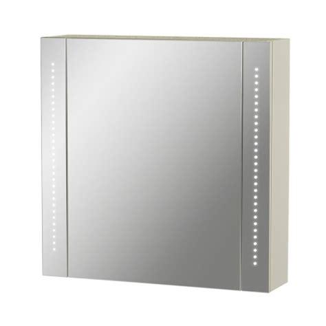Armoire De Toilette Miroir Avec Eclairage Led Planetebain