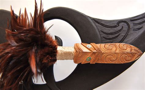 New Zealand Maori Wood Carving