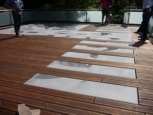 Entkopplungsmatte Auf Holz Verlegen : terrasse holz mit naturstein ~ Markanthonyermac.com Haus und Dekorationen