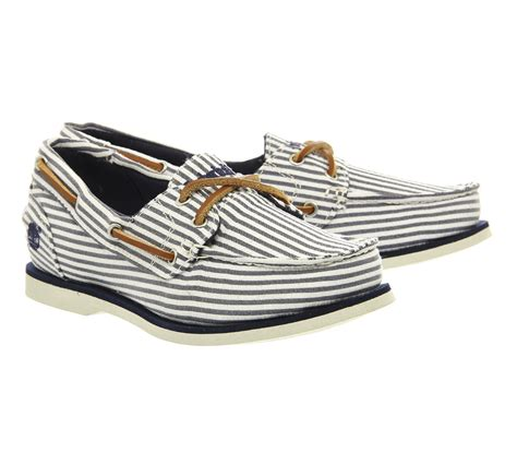 Women S Blue Boat Shoes by Timberland Earthkeepers Classic Boat Shoe In Blue Save