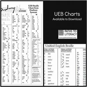 Free UEB Symbol Charts to Download and Print   Paths to ...