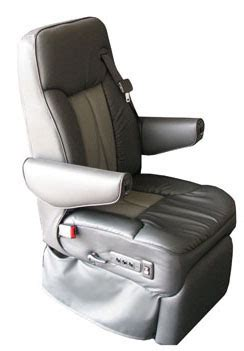 rv furniture seats custom motorhome leather seat sedona is