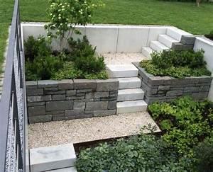 Gartengestaltung Böschung Gestalten : die besten 17 ideen zu trockenmauer auf pinterest steinmauer garten trockenmauer bauen und ~ Markanthonyermac.com Haus und Dekorationen