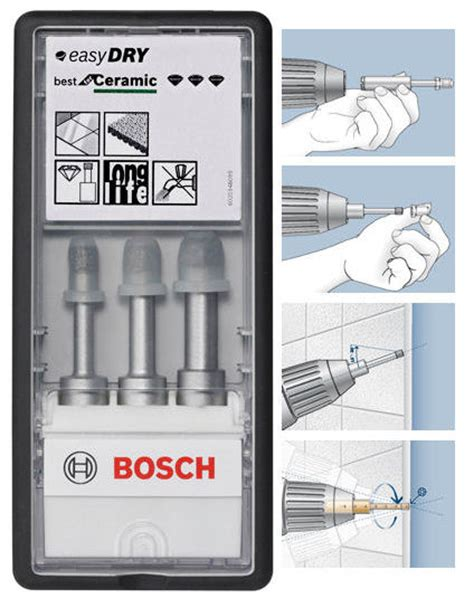 assortiment for 234 t diamant 233 easydry bosch carrelage