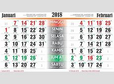 Download Gratis Free Template Kalender 2018 Lengkap