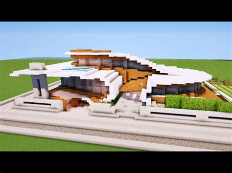 minecraft maison moderne originale map