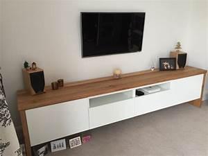 Ikea Hack Besta : best tv unit with oak wrap around ikea hackers ikea hackers ~ Markanthonyermac.com Haus und Dekorationen