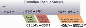 Canadian Cheque Information