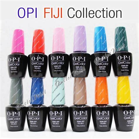 opi gelcolor fiji 2017 collection set of 12 gel