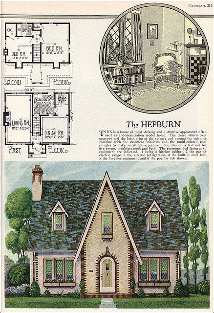 1927 goodrich revival cottage william a 426 best heaps of houses images on