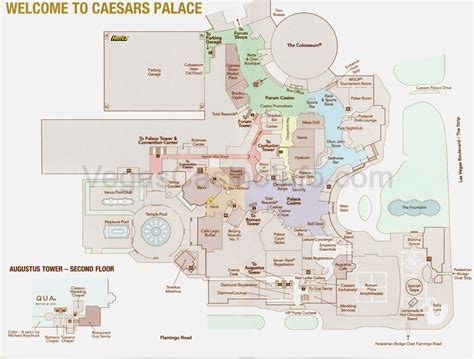 ceasar s palace indoor map las vegas trip 2015