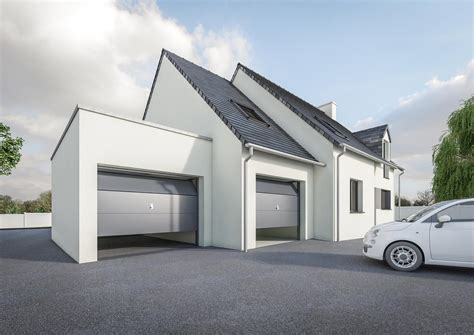 top gallery of extension garage toit plat petit prix modle with extension maison garage