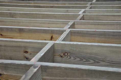 decks deck blocking and bridging