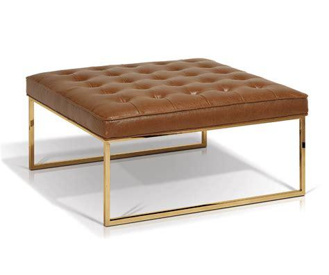 Billings Square Ottoman Coffee Table  Decorium Furniture