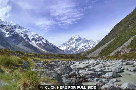 Mount Cook  New Zealand Wallpaper