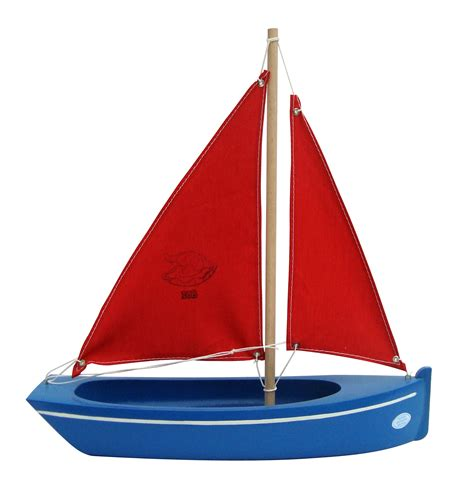 Toy Boats small toy blue boat handmade wooden toy boat for all