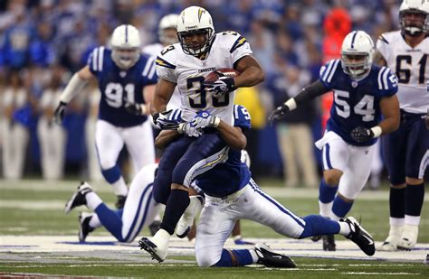 Michael Turner In San Diego Chargers V Indianapolis Colts