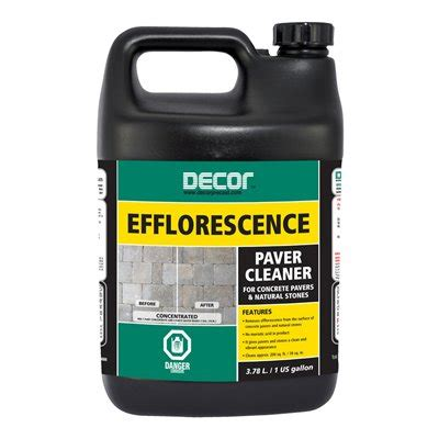 Lowes Canada Deck Cleaner by Oldcastle 3 78 L Decor Efflorescence Paver Cleaner Lowe