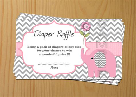 Elephant Baby Shower Diaper Raffle Ticket Diaper Raffle Card Heininger Fire Pit Pictures Of Outdoor Living Spaces With Fireplace Brick Kit Sticks Pits For Wood Decks Strathwood St Thomas Table Antique Glass Stones