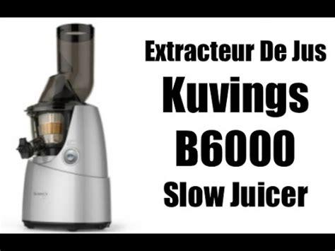 extracteur de jus kuvings whole juicer
