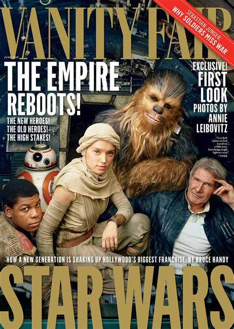 wars the awakens cast poses for vanity fair s june cover vanity fair