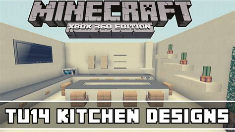 minecraft xbox 360 tu14 kitchen designs