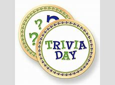 2018 National Trivia Day Holidays and observances