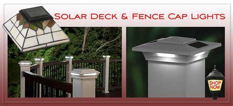 White Fence Post Solar Lights 5