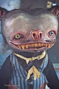 Murphyelago - Art doll ooak monster halloween bat fantasy ...