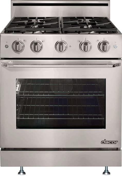 Dacor DR30GS 30 Inch Freestanding Gas Range with 48 cu