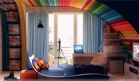 21 Awesome Ideas Adding Rainbow Colors To Your Home Décor I Want To Design My Own Kitchen The Latest Designs Island Bench Lowes Designer And Dining Room Small Tiles Floor Virtual Online