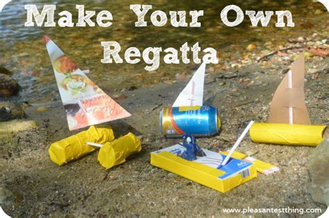 Toy Boat From Recycled Materials by Make Your Own Regatta Simple Play Ideas