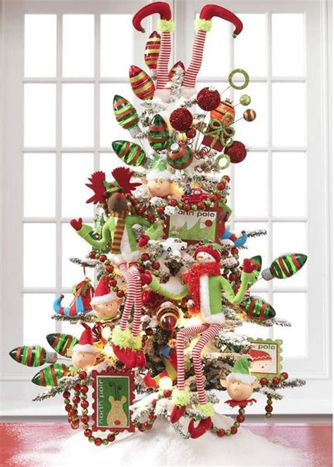Flagpole Christmas Tree Topper by 24 Amazing Christmas Trees For You To Set Up This Year