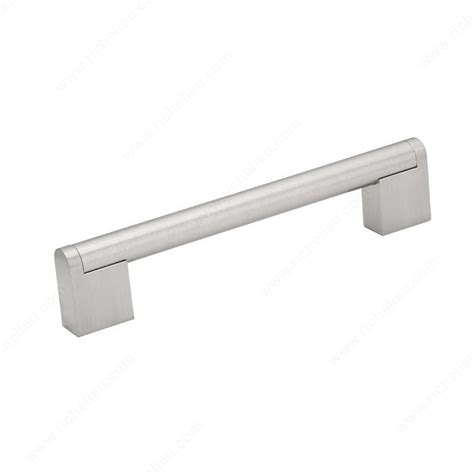 contemporary metal pull 7191 richelieu hardware