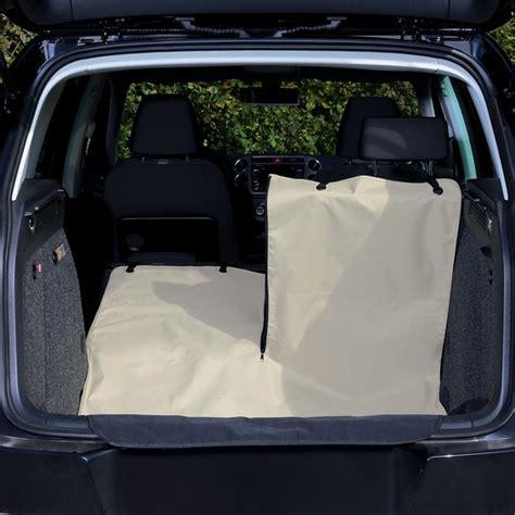 prot 232 ge coffre de voiture beige pour chien accessoires et 233 quipements pour auto sur animalerie
