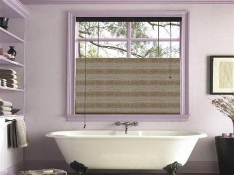 Door & Windows  Nice Window Treatment Ideas For Bathroom