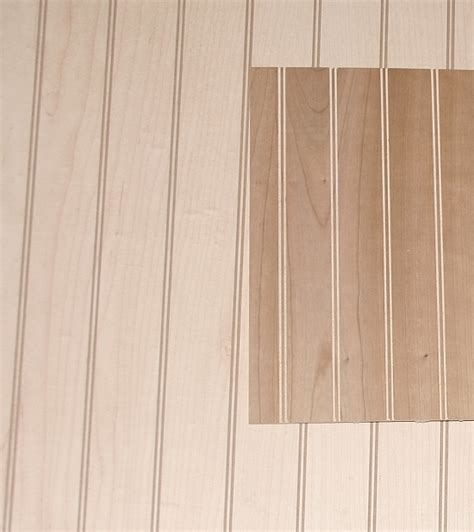 Beadboard Hardwood Sheet 4' X 8' I Elite Trimworks