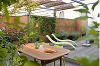 fine roof garden design Italy: Green Terrace Roof Garden - Gallery | Garden Design