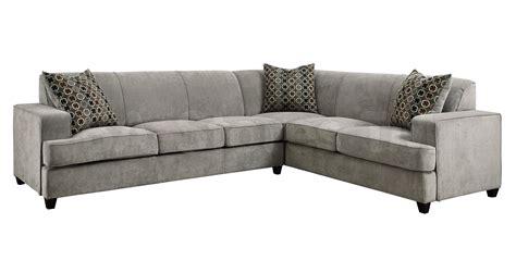 tess modern grey sectional sofa with sleeper sectional
