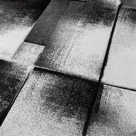 tapis design moderne salon tapis poils ras chin 233 gris cr 232 me noir tous les produits