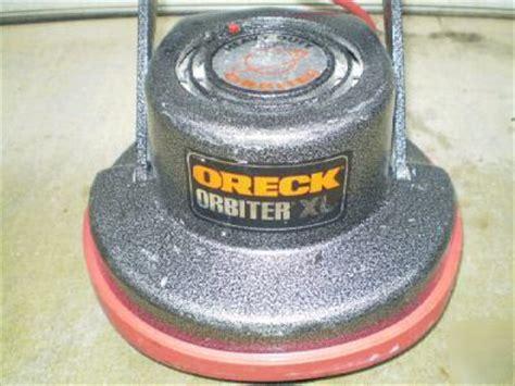 oreck orbiter xl 400 heavy duty floor polisher buffer