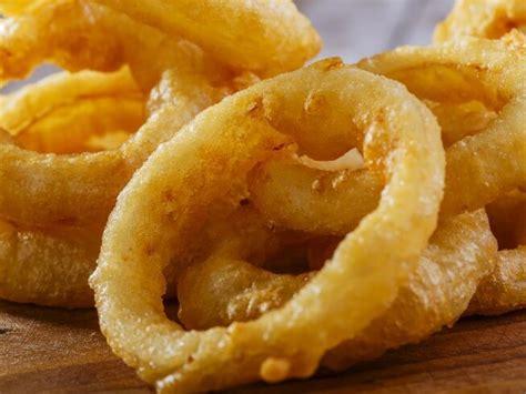 Fried Onion Rings In Mustardbeer Batter Recipe