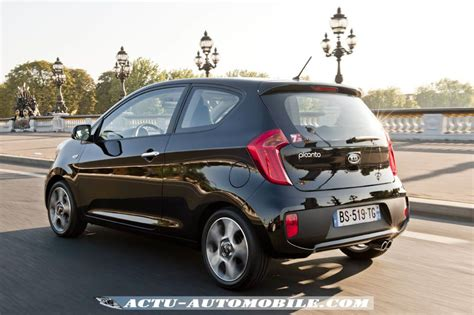 la kia picanto arrive en version 3 portes actu automobile