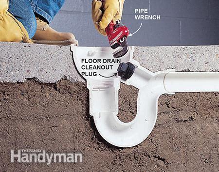clogged floor drain gurus floor